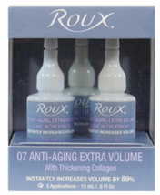 Roux Anti-Aging 07 Extra Volume Treatment Ampoules, 3 Pack