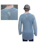 NauticalMart 54'' Medieval Knights Full Sleeve large Hauberk Chainmail  - $199.00