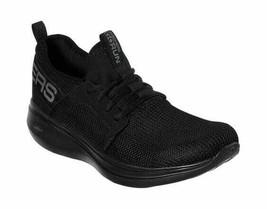 Men's Skechers GOrun Fast Valor Running Shoe Black/Black - $91.44