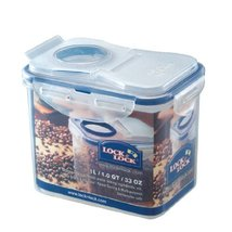Lock&Lock 33.8-Fluid Ounce Rectangular Food Container with Flip Lid, Tall, 4.1-C - $21.77
