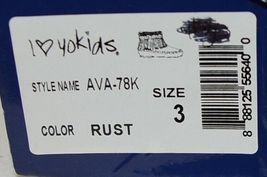 I Love Yo Kids AVA 78K Girls Fringe Boot Rust Silver Studded Size 3 image 9