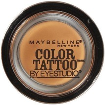 Maybelline 24 Hour Eyeshadow, Fierce and Tangy, 0.14 Ounce - $5.57