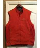 Arcteryx Lightweight Insulated Atom LT Vest Orange Guide Wire Jacket Men... - $119.99