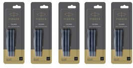 15 X Parker Black Ink Cartridges Refills for Aster Vector Frontier Fountain Pen - $13.36