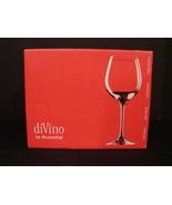 Set of 6 Crystal DiVino Red Wine Goblets 0.48ltr by Rosenthal NIB - $42.00