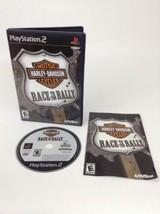 Harley Davidson Motorcycles Race to the Rally Sony PlayStation 2 PS2 Com... - $7.87