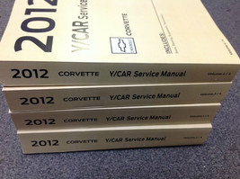 2012 Chevrolet Chevy Corvette Service Atelier Réparation Manuel Set Usine - $395.93