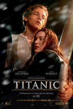 "Titanic Poster James Cameron Movie Art Film Print Size 24x36"" 27x40"" 32x... - $10.90+"