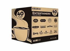 Keurig Entertainers Collection Variety Pack Single Serve Coffee Kcup Pods 40CT - $33.18