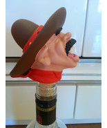 NEW BOTTLE STOPPERS HAND MADE IN ITALY COLLECTIBLES - $37.39