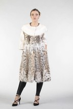 Women's   Bobcat Lynx Fur Coat LACHESIS - $4,455.00