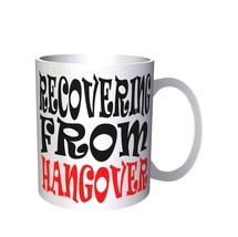 RECOVERING FROM HANGOVER Funny Novelty New 11oz Mug i63 - $14.08 CAD
