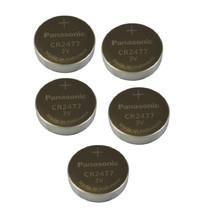 Panasonic CR2477 3V Lithium Cell Battery (5pcs per pack) - N/A - $15.99
