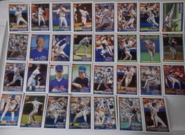 1991 Topps New York Mets Team Set of 31 Baseball Cards - $4.00