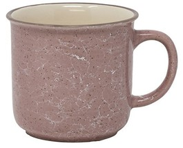 Funny Guy Mugs Speckled Ceramic Campfire Mug, Queen Pink, 13 oz - $19.45