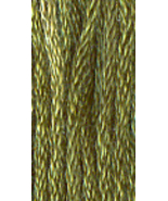 Baby Spinach (7050) 6 strand hand-dyed cotton floss Gentle Art Sampler T... - $2.15