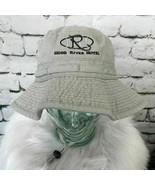 DPC Hood River Hotel Mens Sz M Hat Gray Bucket With Chinstrap 100% Cotton - $13.86