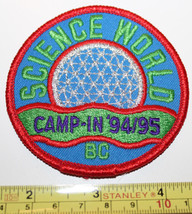 Girl Guides Science World Camp In 94/95 Vancouver Canada Patch Badge - $8.17