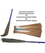 Jhadu Indian Traditional Home Cleaning Broom 3 Variants Assorted Color - $16.28