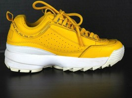Fila Disruptor 2 Sneakers Youth Size 3.5 Canary Yellow - $34.99