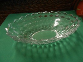 "Great Collectible FOSTORIA AMERICAN Oval BOWL  11"" x 7"" x 3"" - $19.39"