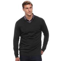 NWT $75 Apt. 9 Men's Big & Tall 2XB Regular Fit Wool Blend Merino Sweate... - $36.99