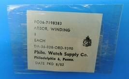 Genuine Vintage Philadelphia Watch Supply Parts Military Arbor Winding 1... - $29.09