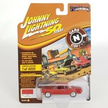 Johnny Lightning Muscle Car 1962 Chevy Corvair 1:64  Roman Red Rubber Tires  New - $14.50