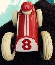 Playforever Red Midi Buck Racing Car PL601 Retr... - $47.01