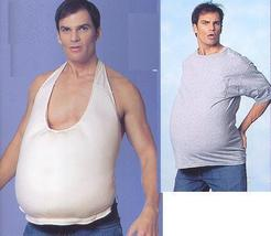 FAKE BELLY FOR SANTA, PREGNANT LOOK, BEER BELLY - $20.00