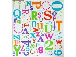 "Doodlebug Design ""Party Mix"" Cardstock Stickers, Alphabet #1360 image 2"