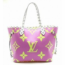 Louis Vuitton Neverfull Tote Bag MM Pink Giant Monogram M44588 R - $3,554.10