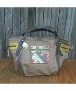 Catherine Parra 2011 Leather Sac Baby Antoinette Bucket Bag Tan Brown - $120.00