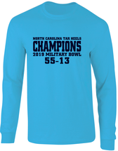 North Carolina Tar Heels 2019 Military Bowl Champions Long Sleeve T-Shirt - $22.99+