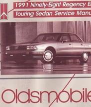 1991 98 oldsmobile ninety eight regency elite touring sedan service shop... - $9.89