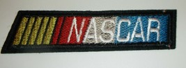 "NASCAR~Stock Car Auto Racing~@ 5"" x 1""~Embroidered~Iron or Sew On~Ships ... - $4.65"