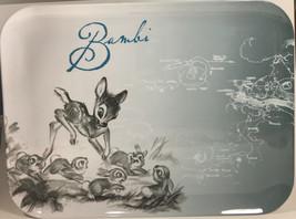 Disney Melamine Bambi Bunnies Serving Tray Zak designs Preowned 16x12 In... - $29.70
