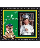 Graduation Photo Frame Gift Keepsake Childs My 1st Grad Kindergarten Pic... - $22.19