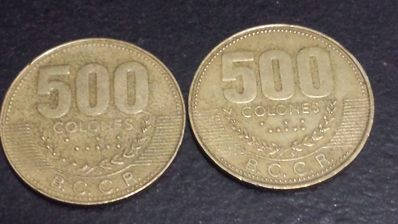 Central America 1920 Costa Rica 10 Centimos Lot#l491 Low Mintage Coins