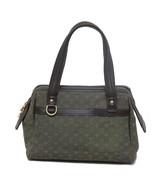 Auth Louis Vuitton Green Khaki Monogram Mini Lin Josephine PM Bag MSRP 9... - $397.38