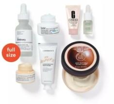 Skincare Sampler 7pc GWP It Cosmetics Ordinary Body Shop Belif Mario Bad... - $24.99