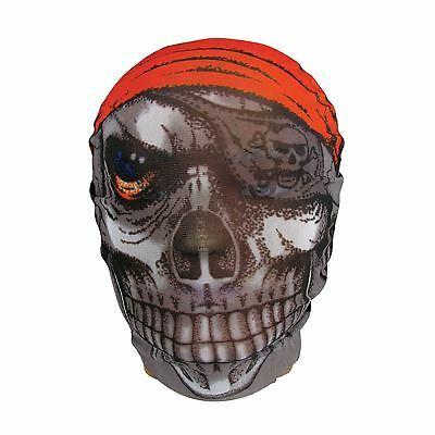 Pelle Maschera Teschio Pirata,Halloween,Costume