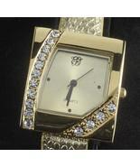 Elizabeth Taylor Wristwatch gold White Diamonds watch H19 - $37.77