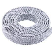 "1"" MFP Soft Flat Braid - PolyPro Hollow Flat Braid Rope - Black, Red, Br... - $10.04"