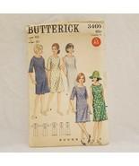 Misses Dress A Line Size 10 Butterick 3460 Vintage Uncut Pattern 1960s - $14.99
