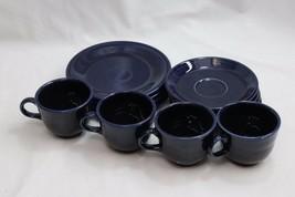 Homer Laughlin Fiesta Ware Cobalt Blue Lot of 12 - $44.09