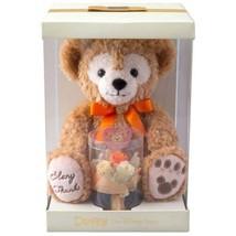 Tokyo Disney Sea 2019 Duffy Peluche Jouet avec Préservé Fleur Cadeau Orange Neuf - $157.82
