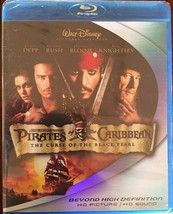 Pirates of the Caribbean: The Curse of the Black Pearl  BLU-RAY 2 DISC - $7.90