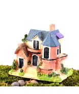 Mini Resin House Miniature House Fairy Garden Micro Landscape Home Garde... - £9.84 GBP
