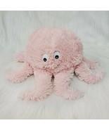 "13"" Octopus Pink Cream Furry Plush Girl Stuffed Animal Toy  B223 - $16.99"